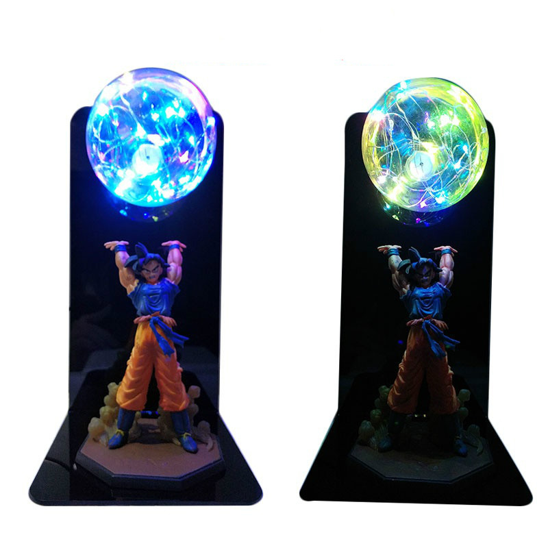 Image 4 - Dragon Ball Super Goku Vegeta Gogeta Figuras LED Light Dragon Ball Lamp Ultra Instinct Goku Bedroom Decorative Night Light Gifts-in Action & Toy Figures from Toys & Hobbies