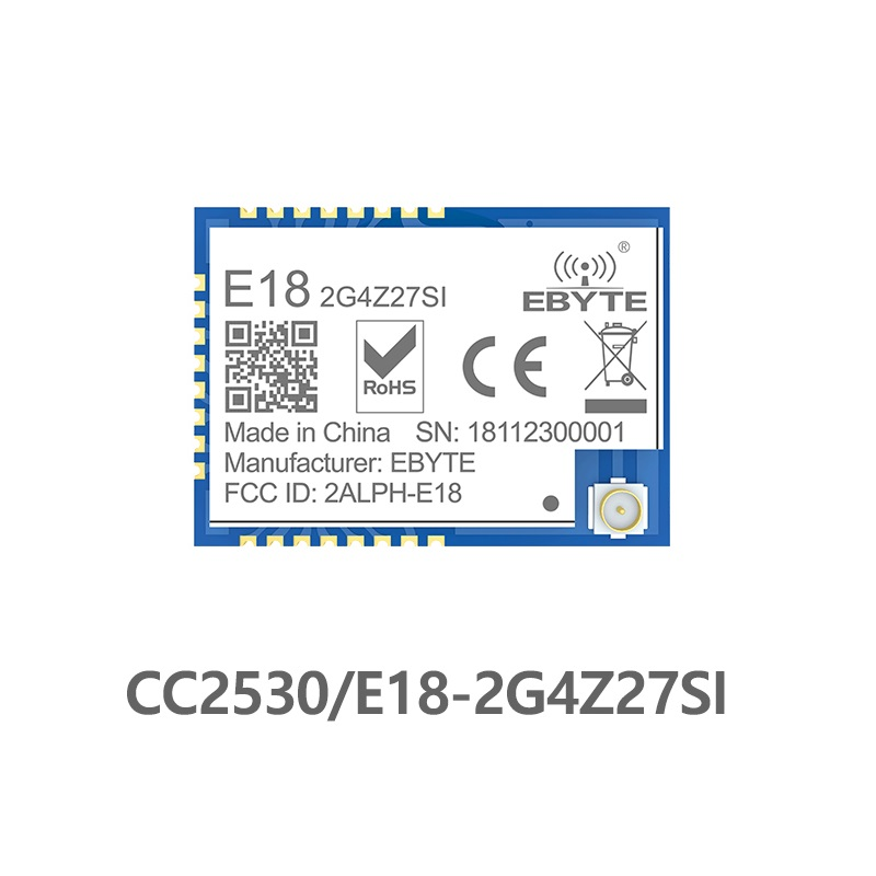 E18-2G4Z27SI Zigbee CC2530 PA CC2592 2,4 Ghz 500mW IoT uhf transceptor inalámbrico 27dBm 2,4 ghz transmisor y módulo receptor Antena Wifi Superbat Yagi 2,4 GHz 16dBi Booster Wireless-G para 802.11b/g/n WLAN RP-SMA Cable de enchufe macho 5m extensión de largo alcance