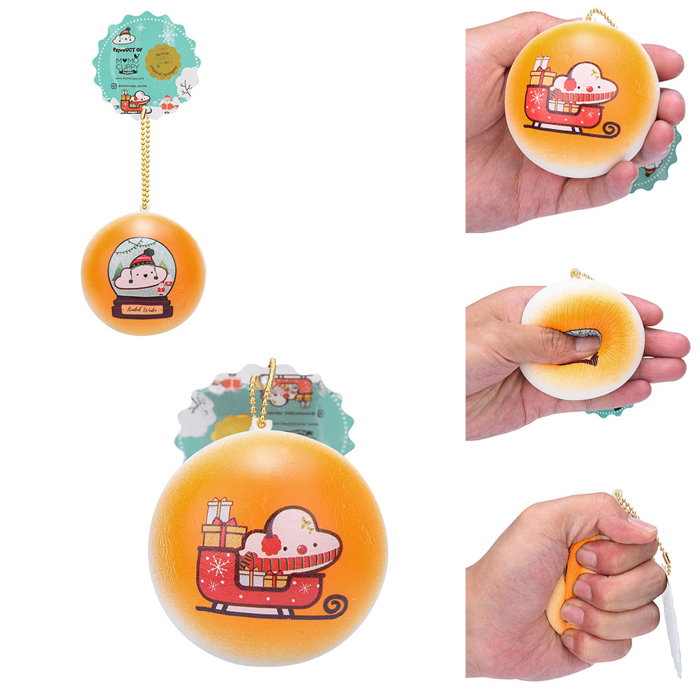 Cartoon Exquisite Slow Rising Ball Adorable Bread Cake Bun Pendant Kids Gift Charm Squishies Squeeze Toys Stress Relief Dropship