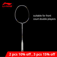 Li Ning Turbo Charging 7II TD Badminton Racket Single Racket li ning LiNing Racquet Professional Sports Accessory AYPM318 ZYF242