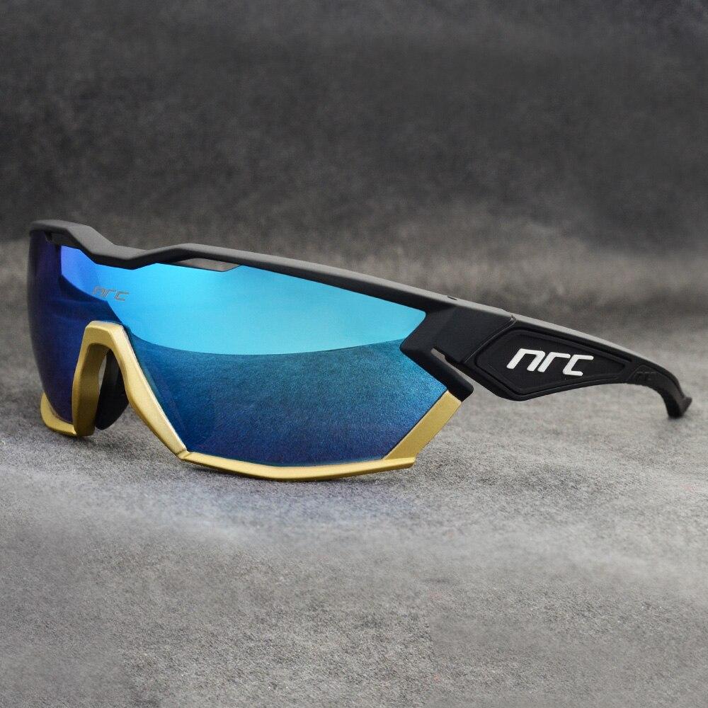Marke 2019 NRC P-Fahrt Photochrome Radfahren Gläser mann Mountainbike Fahrrad Sport Radfahren Sonnenbrille MTB Radfahren Brillen frau