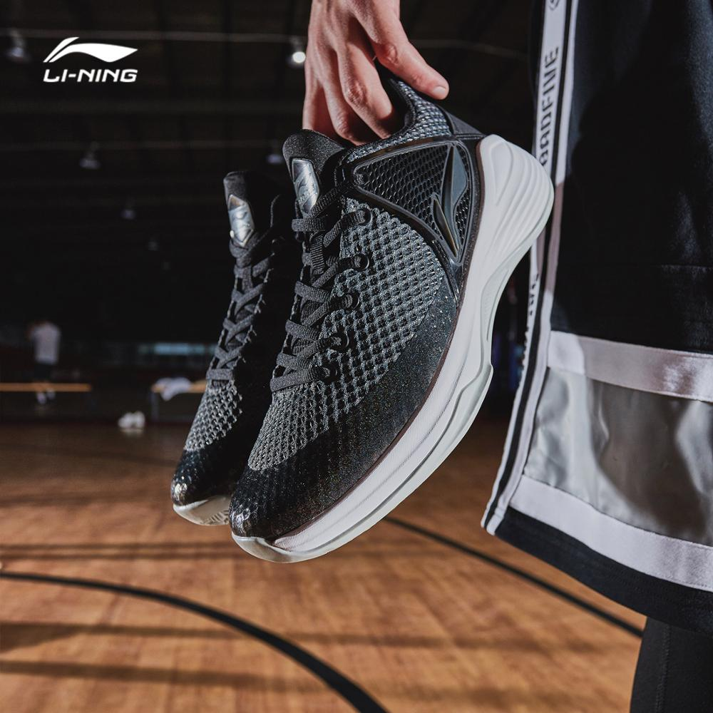 Li-Ning Men SHADOW On Court Basketball Shoes Wearable LiNing Anti-Slippery Sports Shoes Fitness Sneakers ABPN011 SJAS18