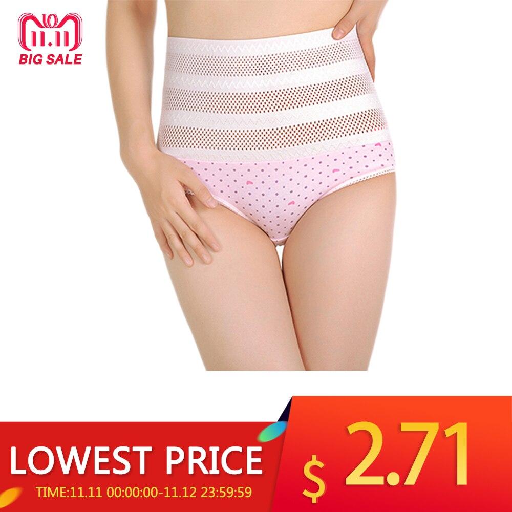 High Quality Women's High Waist Panties Postpartum Maternal Intimates Abdomen Underwear Tummy Control Body Shaper Knickers L-XXL