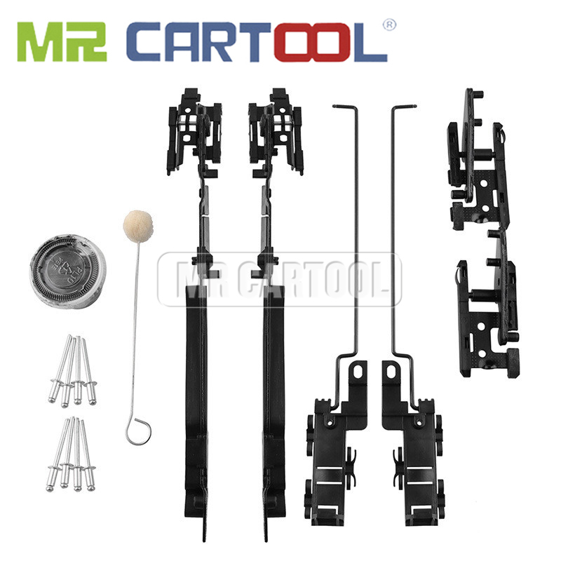 Car Window Repair For Ford F150 F250 F350 F450 Conqueror Lifting Arms Cam Mounts Slot Guides Rivets Grease Applicator
