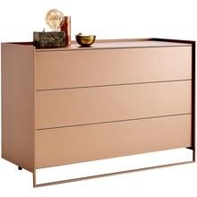 Bespoken сбоку шкафы прикроватные столики с Drawrs или двери/Лак фанера Панель, белое, розовое, золото
