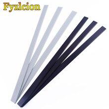 2 pçs diy arco acessório 40-50ibs fibra de vidro arco membros de alta resistência 5mm x 30mm x 560mm para tiro com arco caça