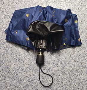 Image 5 - Qualität Automatische Klapp Regen Regenschirm Frauen Anti Uv Schutz Sonnencreme Winddicht Ultra licht Kleine Frische Schiff Anker Sonnenschirm