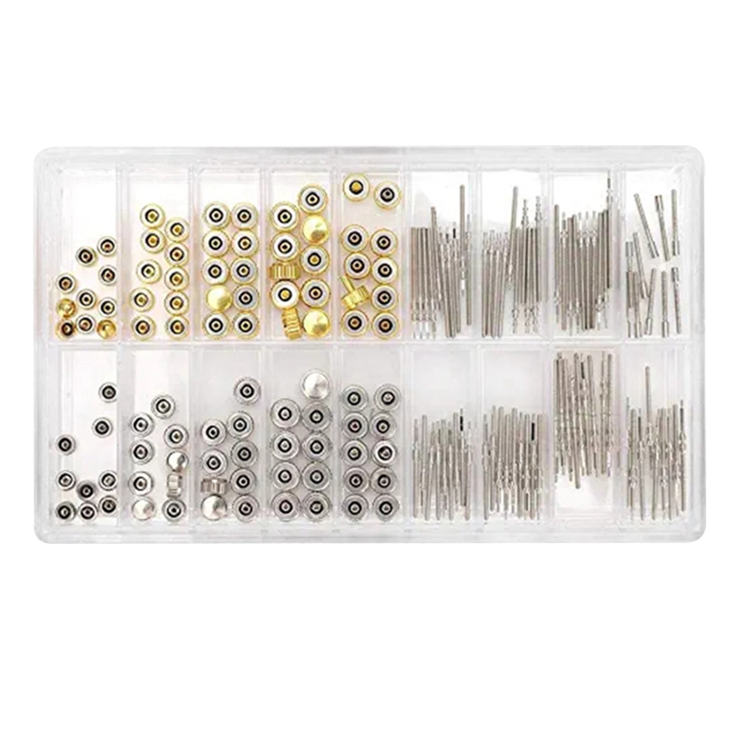 Watch Accessories Watch Rod Extender and Crown Accessory Repair Replacement Tool Kit Crown Crown Rod Repair Parts Watch Repair K