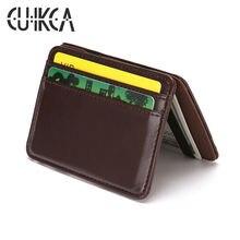 Cuikca корейский волшебный кошелек унисекс зажим для денег тонкий