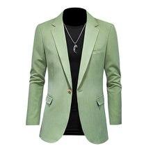 2021 модные однотонные tong chongfeng/мужской костюм куртка