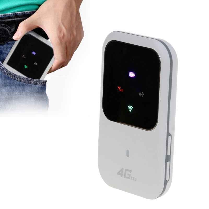 Unlocked Unlocked 4G Wifi yönlendirici 3G 4G Lte taşınabilir kablosuz cep wifi mobil Hotspot araba Wi-fi Sim kartlı Router yuvası ile