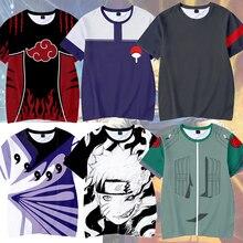 Naruto Kakashi Tshirt Boys Girl Kids 3D T-shirt Naruto Cosplay Sweatshirts Naruto Kakashi Action Figure Tee Shirts Children Tops