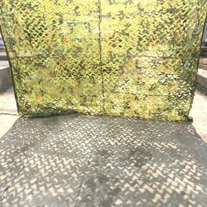 Image 5 - Military Camouflage Nets Black White Sand Blue Reinforced Hide Mesh Pergola Garden Shading Outdoor Awning Gazebo 3x5 2x5 4x4 3x4