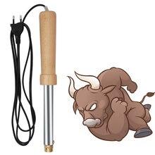 1 pçs elétrica gado ovelhas remover chifre dispositivo bloodless dehorner vaca bezerros cordeiro remoção ângulo ferramenta fazenda equipamentos animais