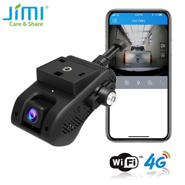 JIMI JC400P 4G วิดีโอ1080P Dual Live Stream Dashcam GPS Track รีโมทคอนโทรล DVR Cam Recorder โดย APP PC Embedded