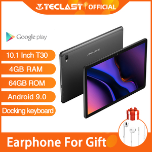 Image 1 - Presale New Teclast T30 Tablet Android 9.0 OS 10.1 Inch 4G Netbook and Call 1920*1200 Phablet Octa Core 4GB RAM 64GB ROM 8000mAh
