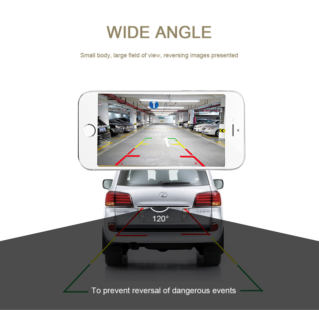2020 upgrade mini wifi hd car rear view camera night vision waterproof wireless for ios and android
