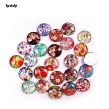 Стеклянная купольная Кабошоны разных сортов с принтом ipridy