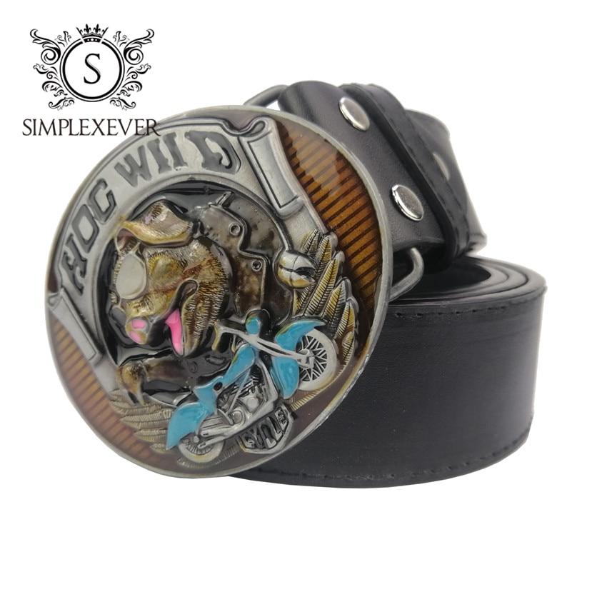 Men's Novelty Pig Belt Buckle Metal Oval Animal Style Belt Buckles Cowboy Belt Buckle For 4cm Belt Cute Hebilla