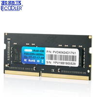 Pccooler original DDR4 Laptop notebook Memory RAM 4GB 8GB 2400MHz 2666MHz 1.35V PC4 Memory
