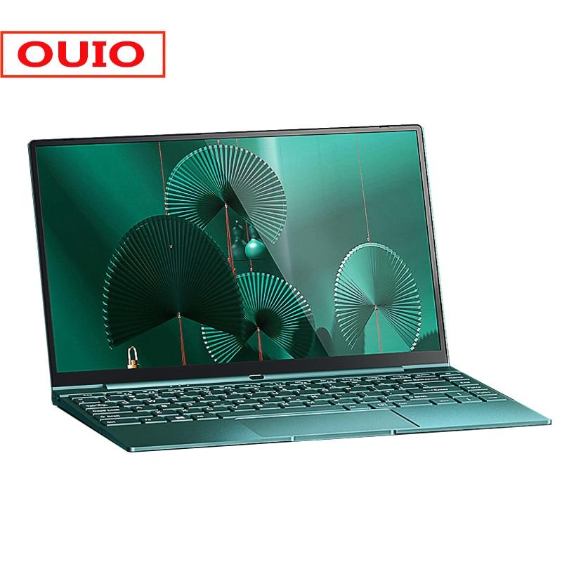 Ноутбук 14,1 дюйма Intel Celeron N5095 DDR4 12 Гб ОЗУ 256 ГБ SSD клавиатура с подсветкой Windows 10 1920x1080 металлический компьютер ПК ноутбук