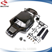 Body Shell & Roll Cage Kit for 1/5 Hpi Rofun Rovan KM Baja 5T 5SC Modified WLT Rc Car Parts