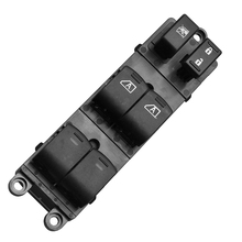 Window Switch Replacement Fit for Nissan Pathfinder 2007-2012 Black Car Power Master Driver Side Front Left