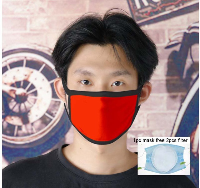 Custom Adult/Kids Mouth Mask Custom Printing LOGO mask filter Windproof Mouth-muffle bacteria proof Flu Face masks Care Children 2