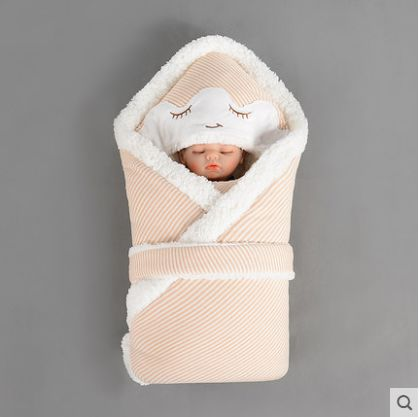 Autumn And Winter Cotton Baby Bedding Baby Blankets Newborn Baby Bag By Neonates Blankets Swaddling Blanket Hold80*80CM100*100CM