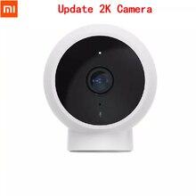 Xiaomi Mijia חיצוני חכם מצלמה סטנדרטי 2K 1296p 180 ° זווית WiFi IR ראיית לילה IP65 עמיד למים אבטחת צג עבור בית