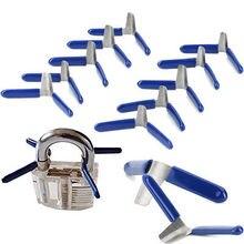 Tools-Lock Lock-Pick-Accessories-Set Locksmith-Tools Shim 10pcs Padlock New