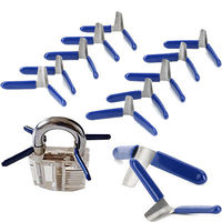 10pcs Padlock Shim Picks Set Lock Pick Accessories Set Tools Lock Home Tools Locksmith Tools New 2020