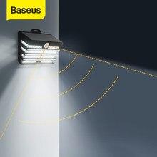 Baseus – lampe solaire LED avec détecteur de mouvement, imperméable, éclairage d'extérieur, luminaire de paysage, idéal pour un jardin ou une pelouse