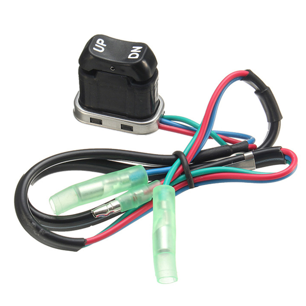 Outboard Motors Easy Install 703 82563 02 00 703 82563 01 00 Spare Parts Trim Tilt Switch Replacement Engine Portable Gasoline