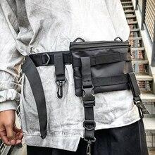 Men Waist Bag Outdoor Running Shoulder bag Waterproof Mobile Phone Money pack Function Crossbody Messenger Bag male Belt Unisex