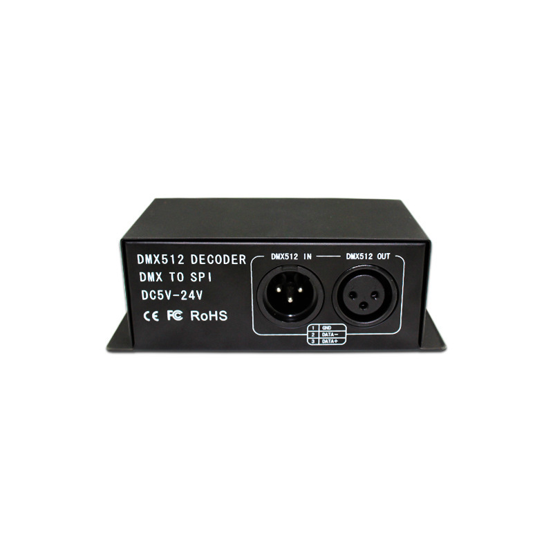 Manufacturers Direct Selling DMX512 Symphony Decoder Stage Light Engineering 2811ic Full Color DMX512 Controller Main Control