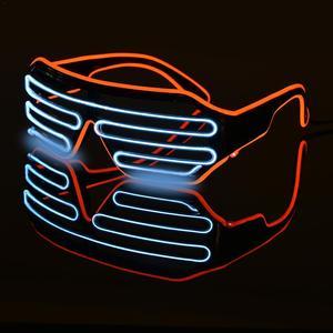 LED Luminous Glasses Halloween