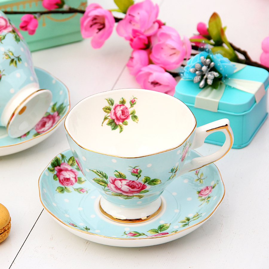 European <font><b>Coffee</b></font> <font><b>Cup</b></font> <font><b>Set</b></font> High Tea <font><b>Set</b></font> Espresso <font><b>Cups</b></font> Creative Ceramic Reusable Bone China <font><b>Coffee</b></font> <font><b>Cup</b></font> Tea <font><b>Cup</b></font> <font><b>Set</b></font> Home W image