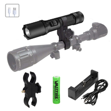 Super Bright Rechargeable LED Flashlight 800 lumens Flashlight Waterproof 3 Modes Portable стоимость