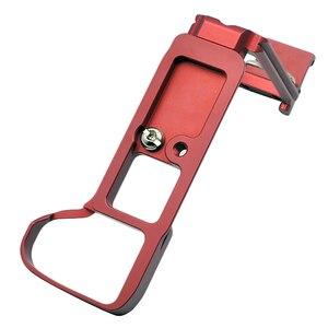 Image 3 - 소니 A9 A7 마크 III A7III A7RIII A7R3 퀵 릴리스 L 플레이트 카메라 브래킷 홀에 대한 핫 슈와 핫 3c 수직 촬영 손 그립