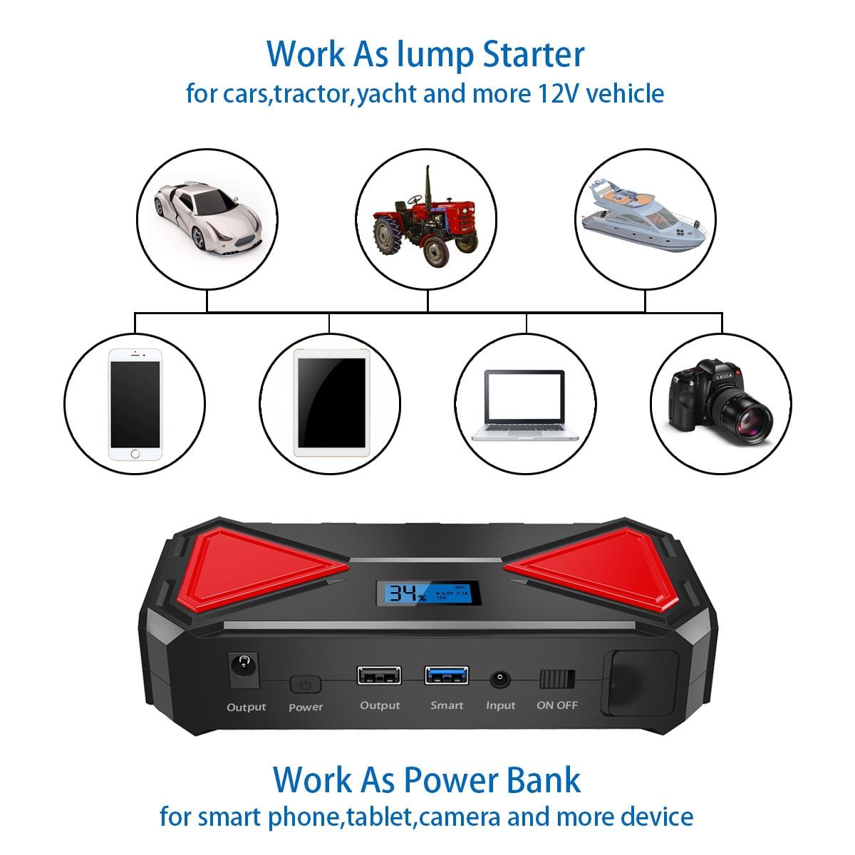 qc3.0 banco de potência portátil carregador de
