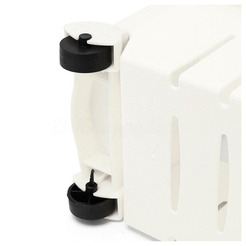 Image 4 - Тонкий выдвижной держатель для кухонной тележки полка для хранения башня складная 3 шины, белый-in Полки и стеллажи для хранения from Дом и животные