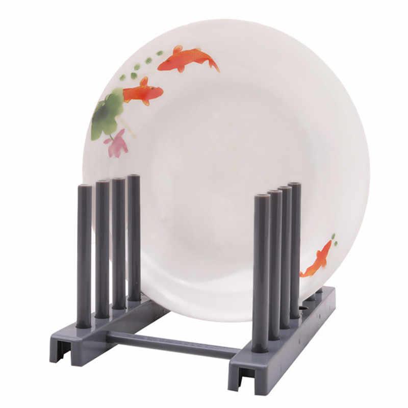 Mutfak düzenleyici tencere kapağı rafı paslanmaz çelik kaşık tutucu tencere kapağı raf yemek tabağı raf Pan kapak standı mutfak aksesuarları