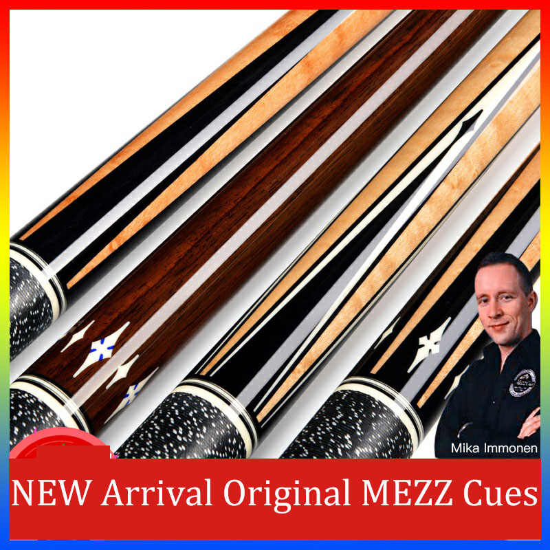 Original MEZZ AXI Series Billiard Pool Cue Professional North American Maple Shaft Stick Teco Billar Cue with Excellent Gifts