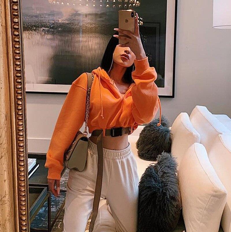 orange short sweatshirt women12