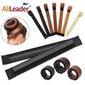 Alileader 2021 Новинка шейпер пончик Кольцо для волос булочка для элегантных женщин волшебный пончик для волос заколки для пучка инструмент для у...