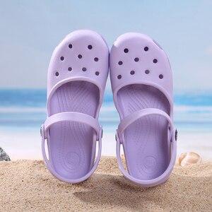 Image 1 - ใหม่มาถึงผู้หญิงน้ำหนักเบารองเท้าแตะฤดูร้อนราคาถูกMULE Clogsผู้หญิงหญิงรองเท้าสวนพยาบาลทำงานรองเท้าแตะรองเท้า