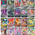 50-300 шт французская версия Pokemon Card с 100 тегами команды 200 Gx 150 VMAX V Max