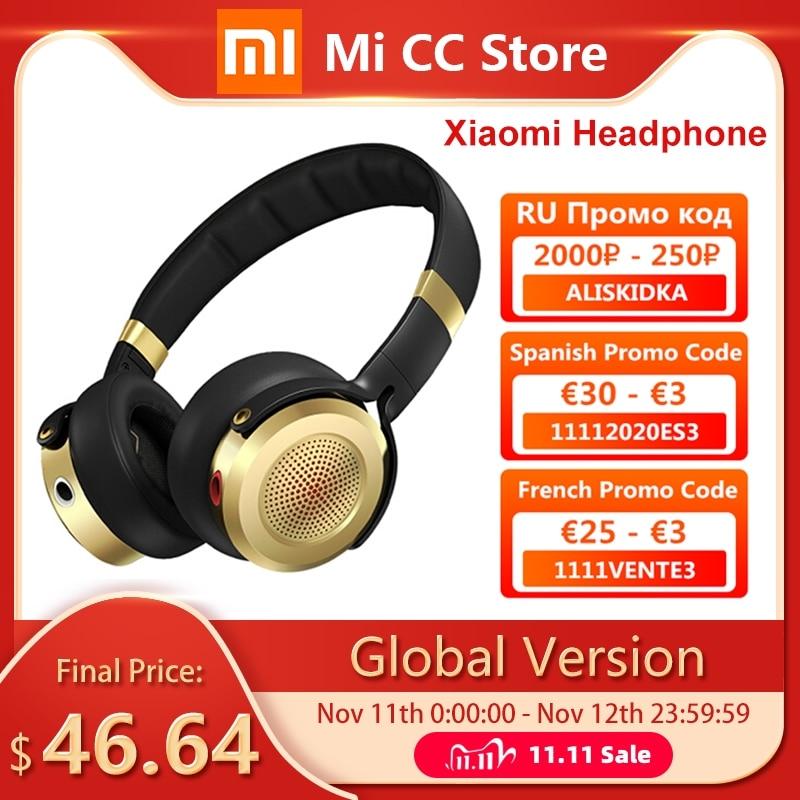Global Version Xiaomi headphone 3 5mm plug microphone HIFI portable sport earphone stereo bass music headset for Redmi Note 9S