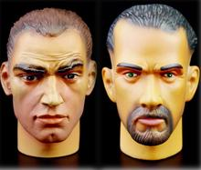 Special Price 1/6 Figure Male Head Sculpt Model 001/ 010 Collection Doll Toys Accessories